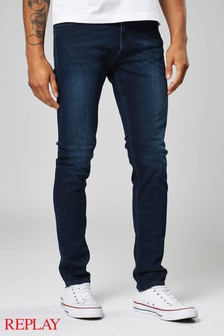 Replay® Darkwash Jondrill Skinny Fit Jean