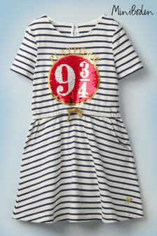 Boden Harry Potter Platform 9¾ Sequin Dress