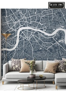 Eighty Two London Map Wall Mural