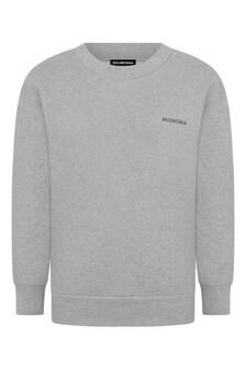 Kids Cotton Logo Sweater