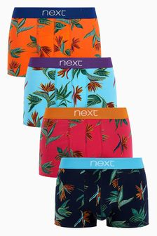 Floral Hipsters Four Pack