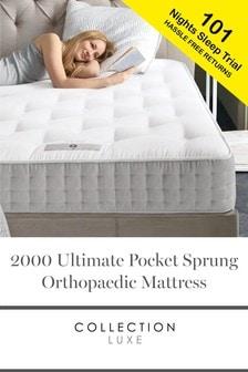 2000 Pocket Sprung Ultimate Natural Orthopaedic Mattress