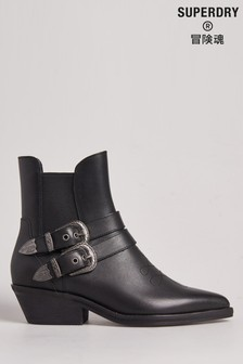 Superdry Western Buckle Boots