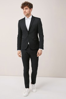 Stretch Twill Suit: Jacket