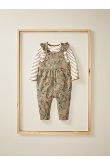 Dungarees And T-Shirt Set (3mths-7yrs)