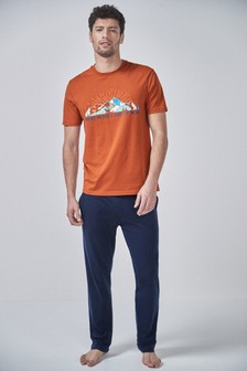 Graphic Pyjamas Set