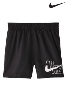 "Nike Solid 4"" Volley Swim Shorts"