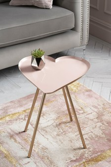 Heart Side Table