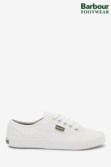 Barbour® White Luna Trainers