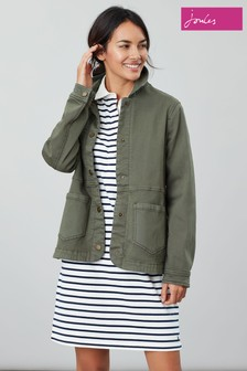 Joules Green Imogen Denim Jacket