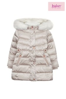 baker by Ted Baker Ivory Padded Down Coat