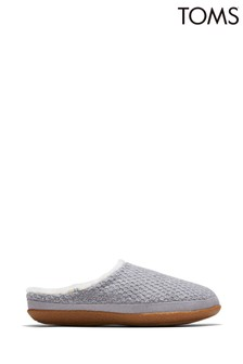 Toms Grey Ivy Slippers