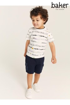 Baker by Ted Baker All Over Print T-Shirt