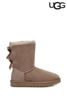 UGG® Brown Bailey Bow Boots
