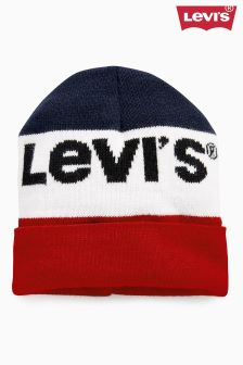 Levi's® Navy/White/Red Olympic Logo Beanie