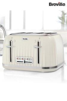 Breville Impressions Cream 4 Slot Toaster
