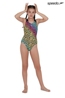 Speedo Animal Print Swimsuit