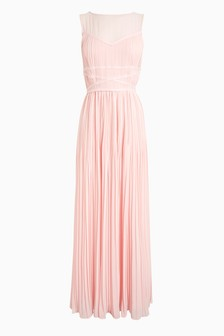 Embellished Detail Maxi Bridesmaid Dress