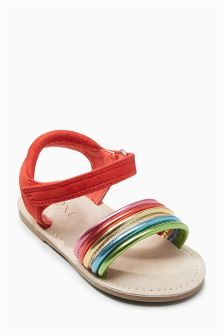 b59912ee05f0 Older Girls Younger Girls footwear Sandals Red
