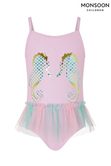 Monsoon Baby Blaire Seahorse Swimsuit