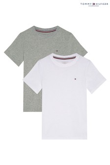 Tommy Hilfiger Grey T-Shirts 2 Pack