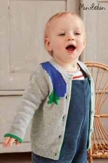 Boden Grey Novelty Cardigan