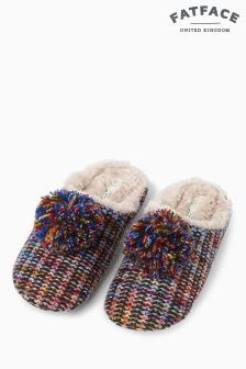 FatFace Milly Multi Knit Mule