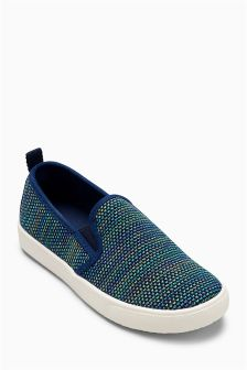 Lightweight Knitted Slip-Ons (Younger)