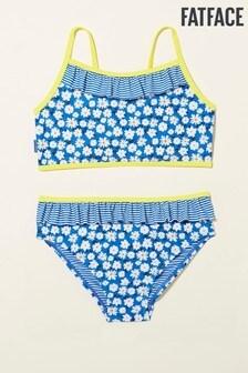 FatFace Blue Nx Ditsy Daisy Bikini