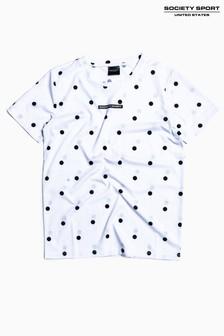 Society Sport Kids Spot Print T-Shirt