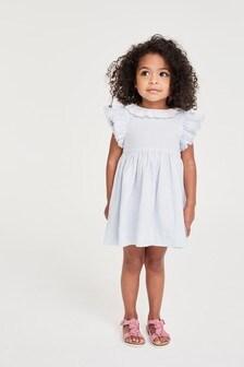 Lace Collar Stripe Dress (3mths-7yrs)
