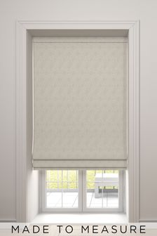 Hallam Champagne Natural Made To Measure Roman Blind