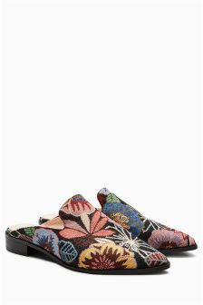 Tapestry Mules