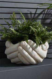 Open Hands Planter
