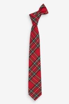 Kravata iz tartana (1–16 let)