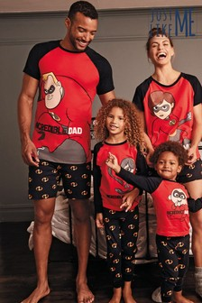 Matching Family Red Incredibles™ Violet Pyjamas (3-12yrs)