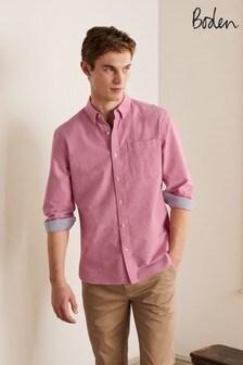 Boden Pink Modern Oxford Shirt