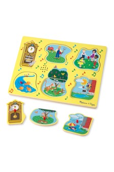 Melissa & Doug Sing Along Nursery Rhymes 1 Sound Puzzle