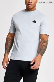 River Island Premium Badge T-Shirt