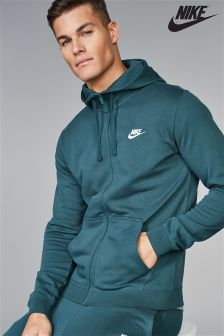 Nike Club Zip Through Hoody