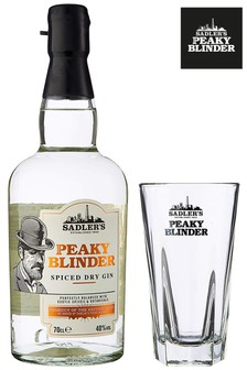 Peaky Blinders Spiced Gin And Glass Gift Set