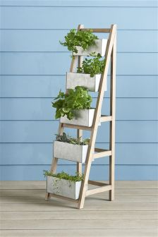 Salvage Ladder Large Planter