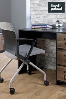 Cargo Three Drawer Desk by Lloyd Pascal