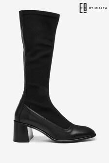 Mix/E8 Black Alisa Stretch Boots