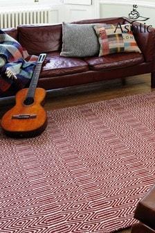 Asiatic Rugs Red Sloan Geo Rug