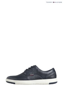 Tommy Hilfiger Blue Lightweight City Leather Shoes