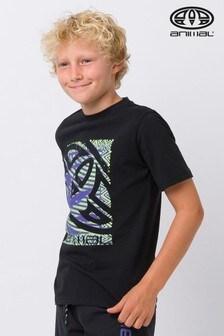 Animal Black Tabo Graphic T-Shirt