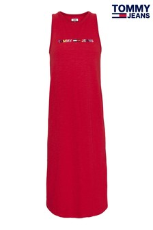 Tommy Jeans Rainbow Logo Tank Dress