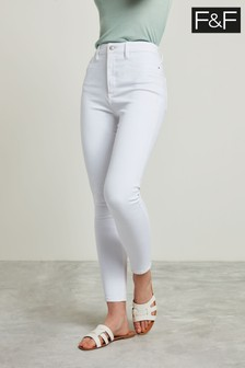 F&F White Skinny Jean