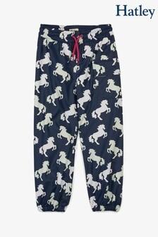 Hatley Blue Playful Horses Colour Changing Splash Pants